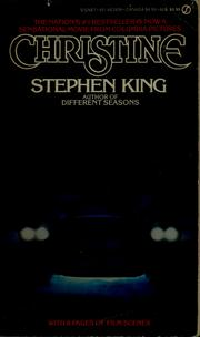 Cover of: Christine | Stephen King