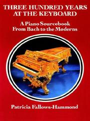 Three hundred years at the keyboard by Patricia Fallows-Hammond
