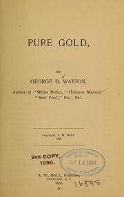 Pure gold PDF