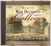 Making Wise Decisions About College (CD) (Train Up a Child in the Way He Should Go) PDF