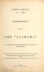 Correspondence respecting the Alabama.