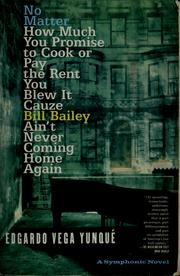 No matter how much you promise to cook or pay the rent you blew it cauze Bill Bailey ain't never coming home again PDF