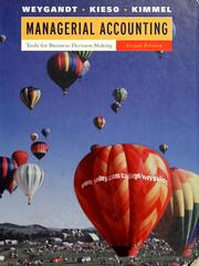 Managerial Accounting by Jerry J. Weygandt, Jerry J. Weygandt