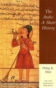 The Arabs by Philip Khuri Hitti