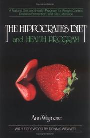 The Hippocrates diet and health program PDF