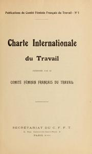 Charte internationale du travail PDF
