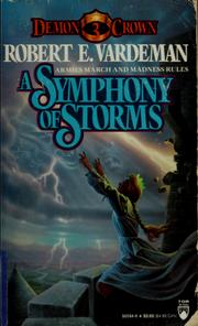Cover of: A symphony of storms by Robert E. Vardeman
