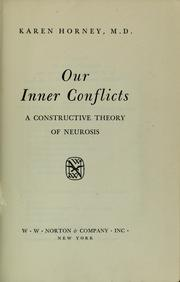 Our inner conflicts PDF