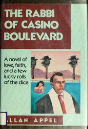Cover of: The rabbi of Casino Boulevard by Allan Appel