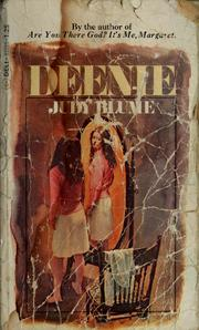 Cover of: Deenie by Judy Blume