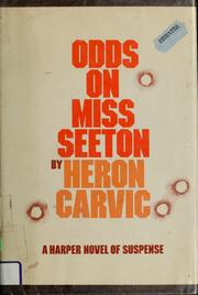 Odds on Miss Seeton by Heron Carvic
