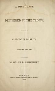 A discourse delivered to the troops PDF