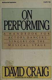 On performing PDF