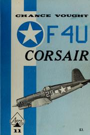 Cover of: Chance Vought Corsair by Edward T. Maloney