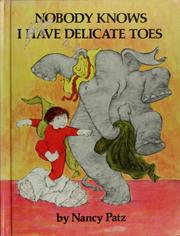 Nobody knows I have delicate toes PDF