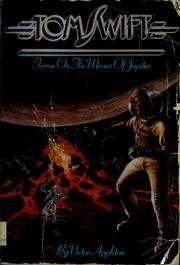 Cover of: Terror on the moons of Jupiter by Victor Appleton