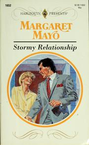 Cover of: Stormy relationship by Margaret Mayo, Margaret Mayo
