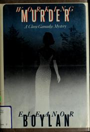 Cover of: Working murder by Eleanor Boylan