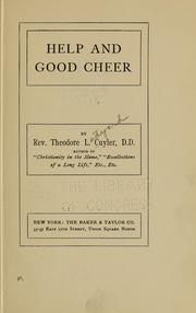 Help and good cheer PDF
