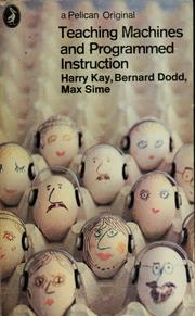 Teaching machines and programmed instruction PDF