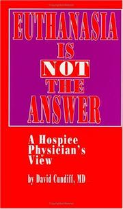Euthanasia is not the answer PDF