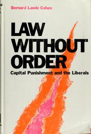 Law without order