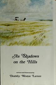 As shadows on the hills PDF