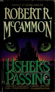 Usher's Passing by Robert R. McCammon