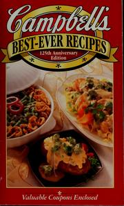 Campbell's best-ever recipes by Campbell Soup Company