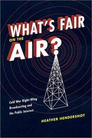 What's Fair on the Air? PDF