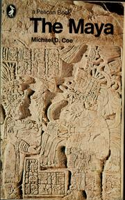 Cover of: The Maya by Michael D. Coe