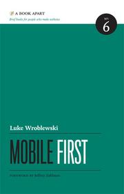 Cover of: Mobile First by