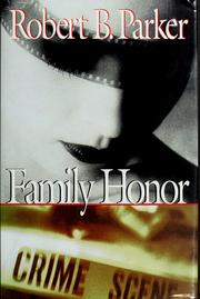 Cover of: Family honor by Robert B. Parker