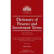 Cover of: Dictionary of finance and investment terms by
