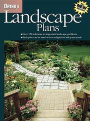 Cover of: Ortho's Landscape Plans by Chuck and Barbara Crandall