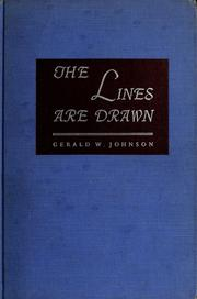 The lines are drawn; American life since the First World War as reflected in the Pulitzer prize cartoons PDF