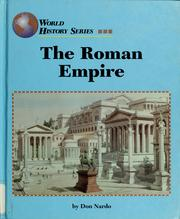 Cover of: The Roman Empire by Don Nardo