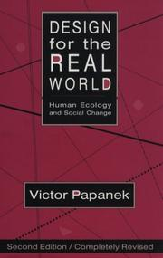 Design for the real world by Victor J. Papanek