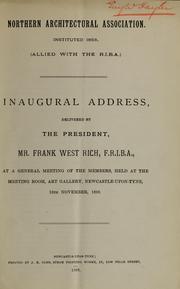 Inaugural address PDF