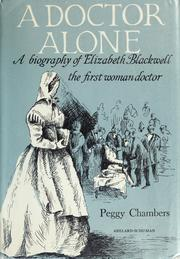 A doctor alone by Peggy Chambers