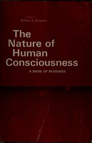The nature of human consciousness PDF