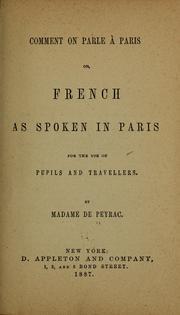 Comment on parle à Paris