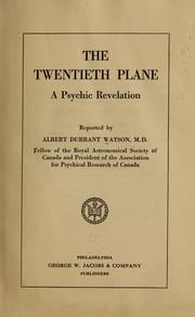 The twentieth plane PDF