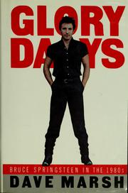 Cover of: Glory days by Dave Marsh