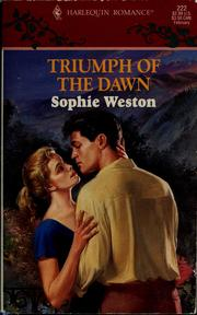 Cover of: Triumph of the dawn by Sophie Weston