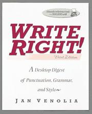 Write right! by Jan Venolia
