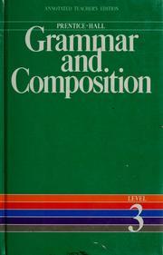 Prentice-Hall grammar and composition PDF