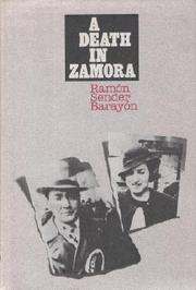 A Death in Zamora by Ramón Sender Barayón