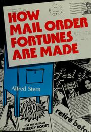 How mail order fortunes are made by Stern, Alfred