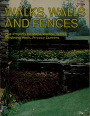 Walks, walls, and fences PDF